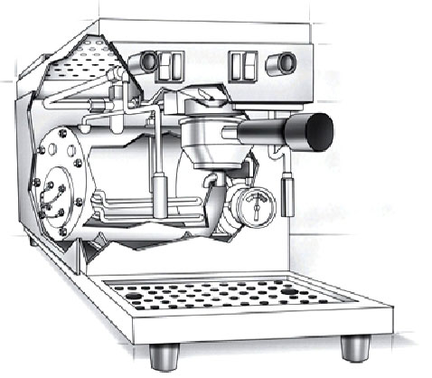 Espresso-Illustration